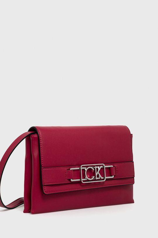 Calvin Klein - Kabelka ostrá růžová