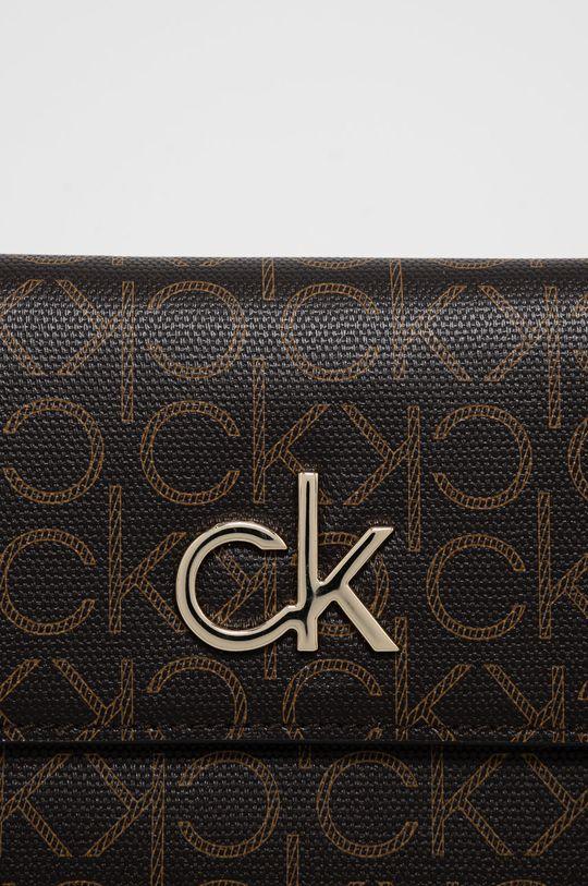 Calvin Klein - Torebka ciemny brązowy