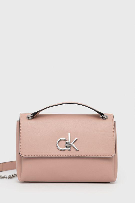 ružová Calvin Klein - Kabelka Dámsky