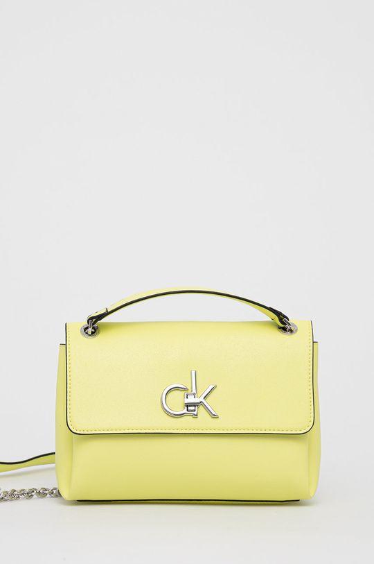 żółto - zielony Calvin Klein - Torebka Damski