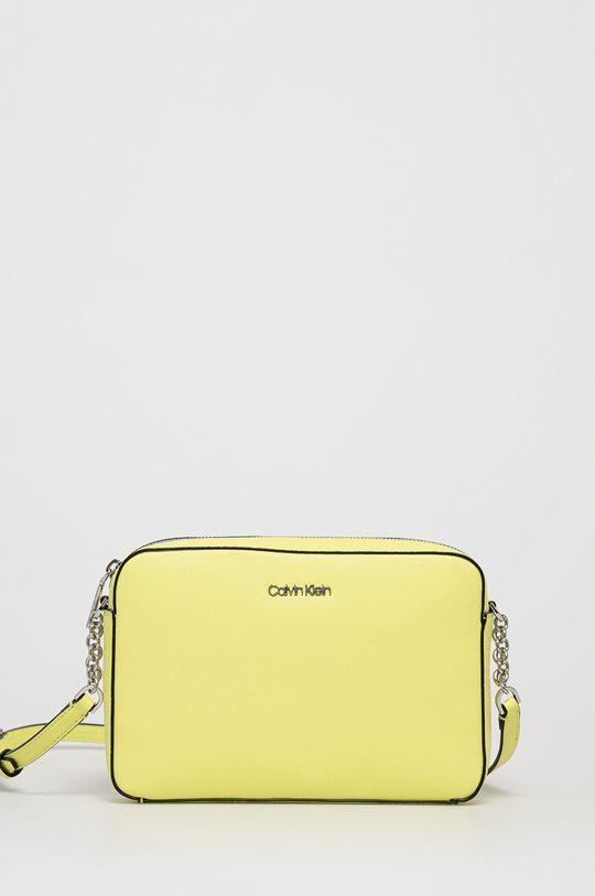 jasně žlutá Calvin Klein - Kabelka Dámský