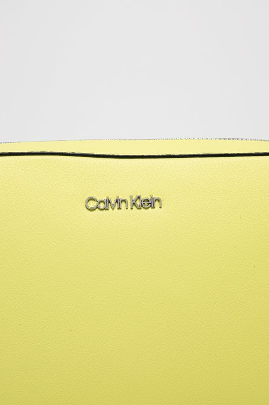 Calvin Klein - Kabelka jasně žlutá