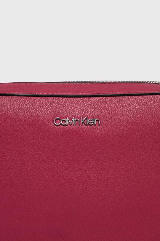 Calvin Klein - Kabelka sýto ružová