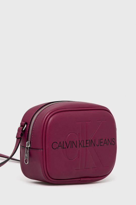 Calvin Klein Jeans - Torebka purpurowy