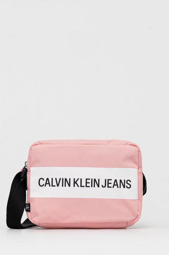 růžová Calvin Klein Jeans - Kabelka Dámský