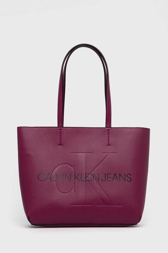 purpurová Calvin Klein Jeans - Kabelka Dámský