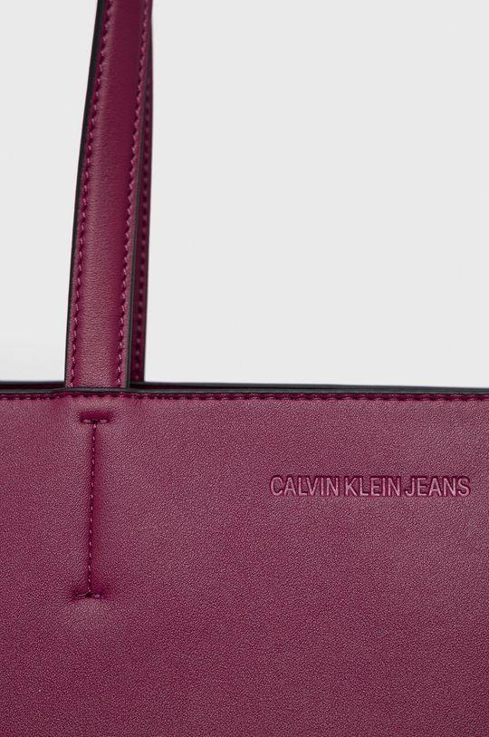 purpurová Calvin Klein Jeans - Kabelka
