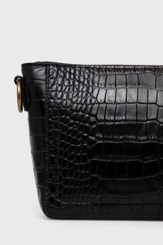 Polo Ralph Lauren - Kožená kabelka  Podšívka: 5% Elastan, 95% Polyester Hlavní materiál: 100% Přírodní kůže