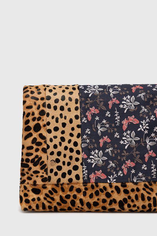 Desigual - Kožená kabelka  Podšívka: 100% Polyester Základná látka: 6% Polyester, 94% Hovädzia koža Úprava : 100% Polyuretán Pokyny na ošetrovanie :  Nesmie sa prať