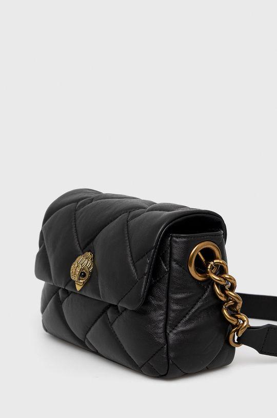 Kurt Geiger London - Kožená kabelka černá