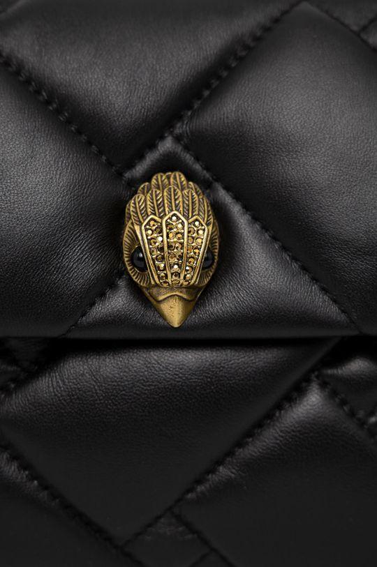 černá Kurt Geiger London - Kožená kabelka