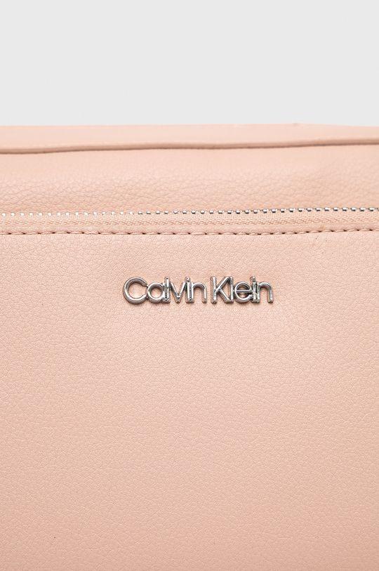 Calvin Klein - Torebka pastelowy różowy