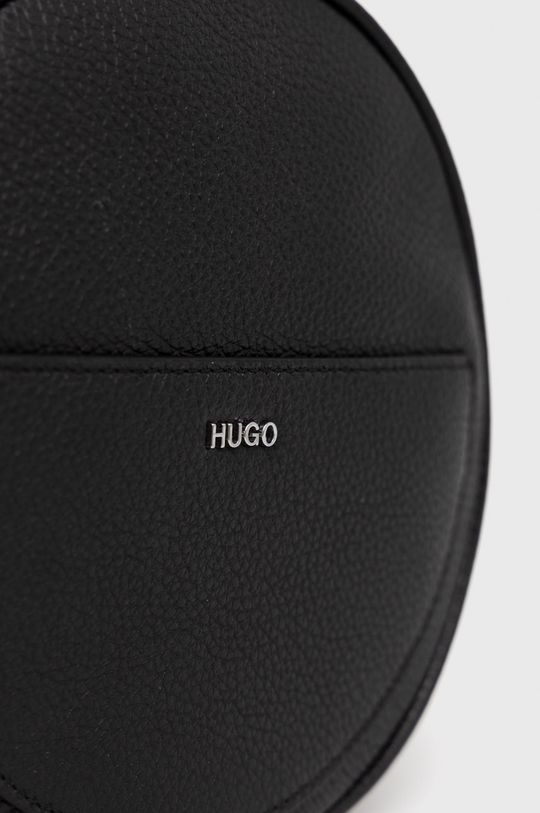 czarny Hugo - Torebka skórzana