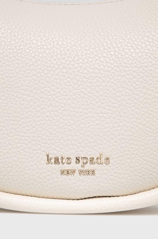 Kate Spade - Torebka skórzana kremowy
