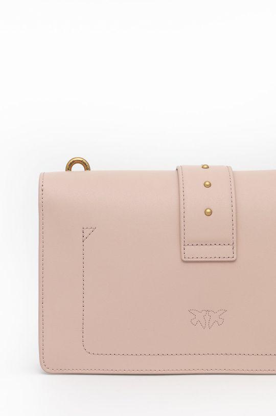 pastelová Pinko - Kožená kabelka