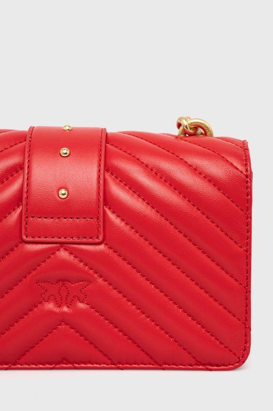 czerwony Pinko - Torebka skórzana