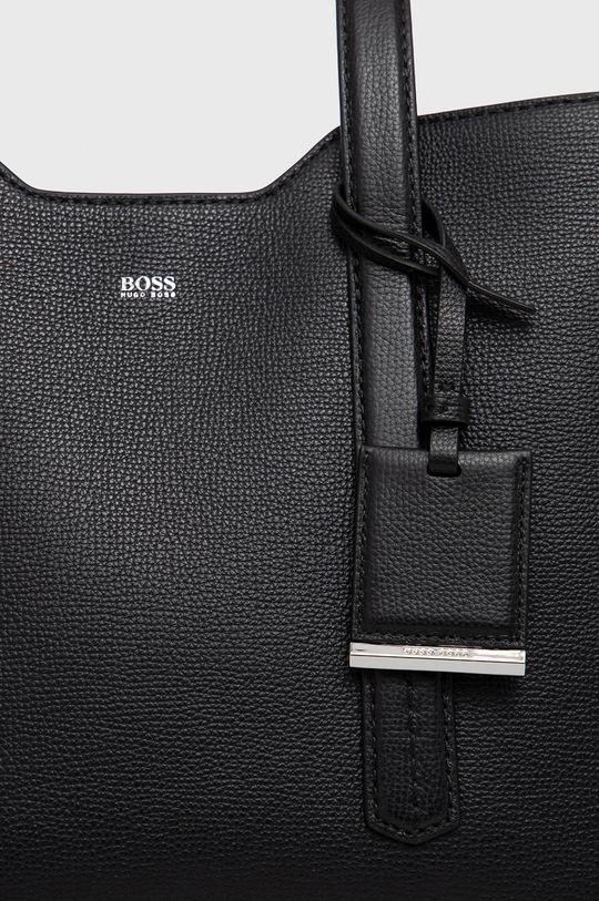 Boss - Poseta de piele negru