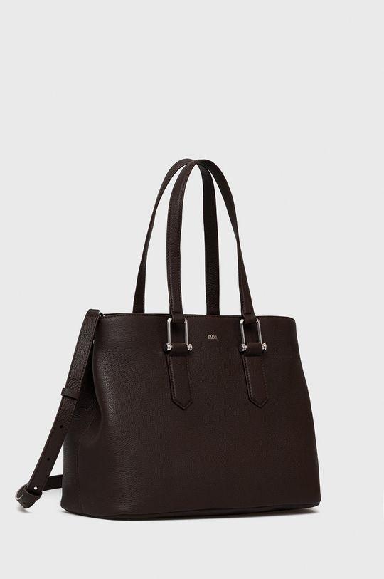 Boss - Kožená kabelka  100% Prírodná koža
