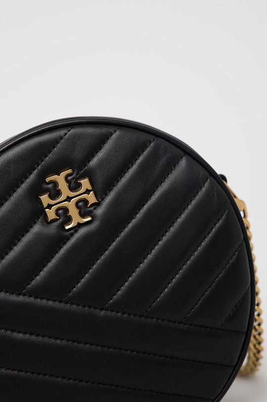 Tory Burch - Kožená kabelka černá