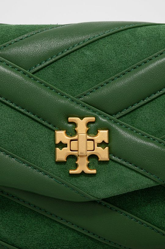 Tory Burch - Kožená kabelka zelená