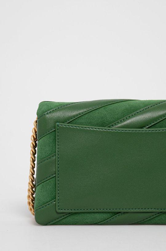 zelená Tory Burch - Kožená kabelka