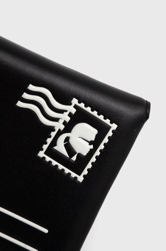 czarny Karl Lagerfeld - Kopertówka skórzana