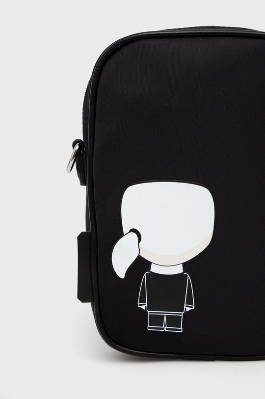 Karl Lagerfeld - Torebka 30 % Poliuretan, 70 % Poliamid z recyklingu