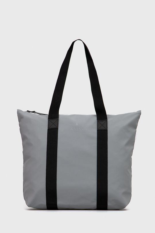 jasny szary Rains - Torba 1225 Tote Bag Rush Damski