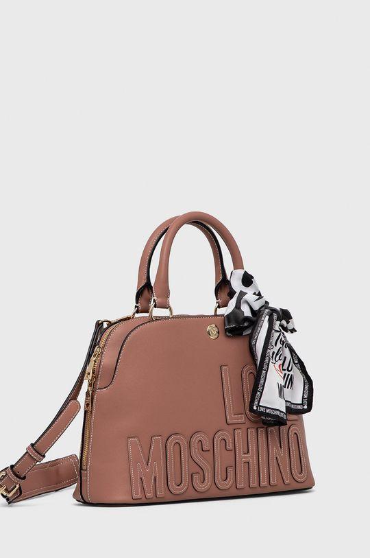 Love Moschino - Kabelka fialovo-růžová