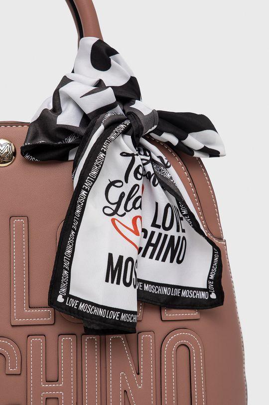 fialovo-růžová Love Moschino - Kabelka