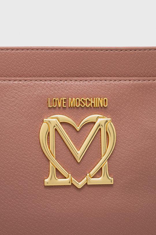 fiołkowo różowy Love Moschino - Torebka