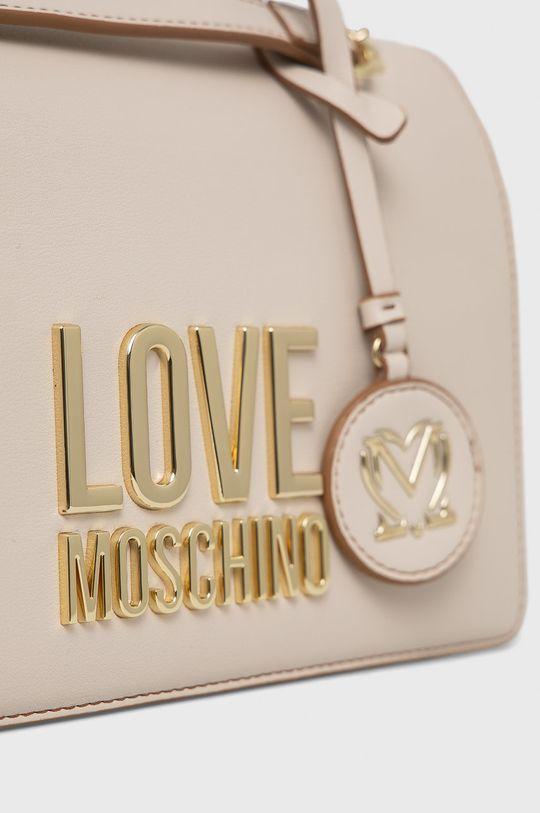 kremowy Love Moschino - Torebka