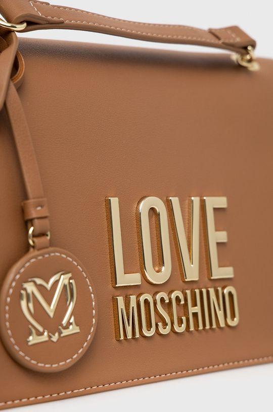 zlatohnědá Love Moschino - Kabelka