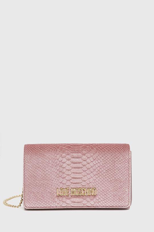 roz pastelat Love Moschino - Poseta De femei
