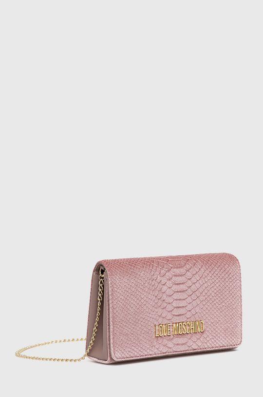 Love Moschino - Poseta roz pastelat