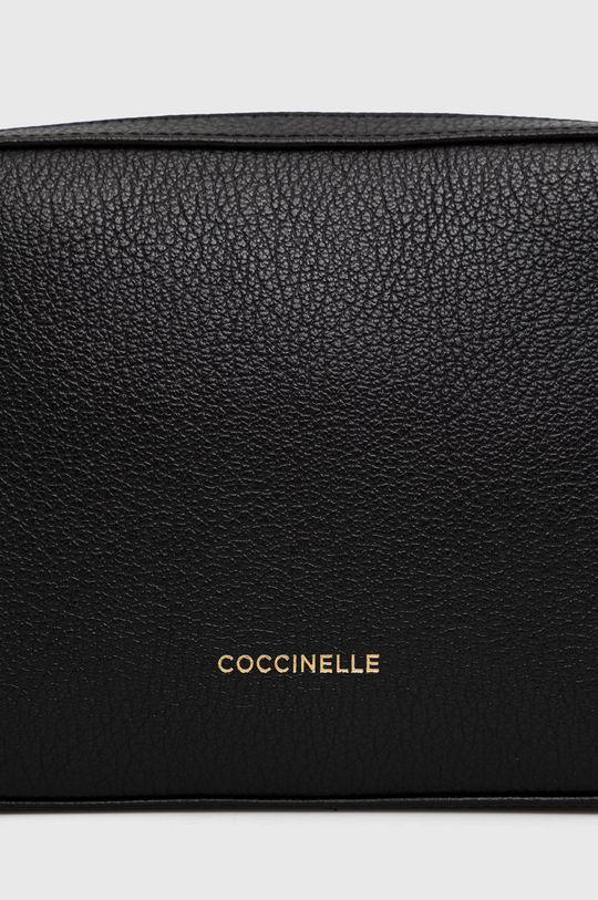 negru Coccinelle - Poseta de piele Lea