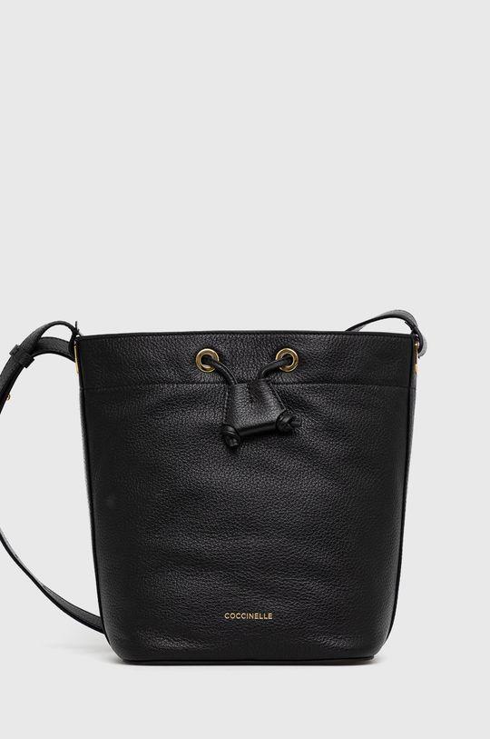 negru Coccinelle - Poseta de piele Lea De femei