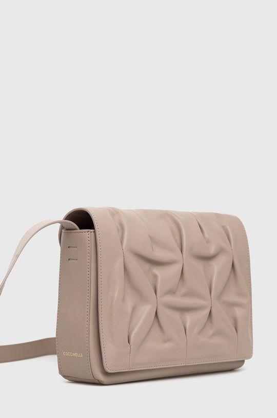 Coccinelle - Poseta de piele Marquise Goodie culoarea tenului