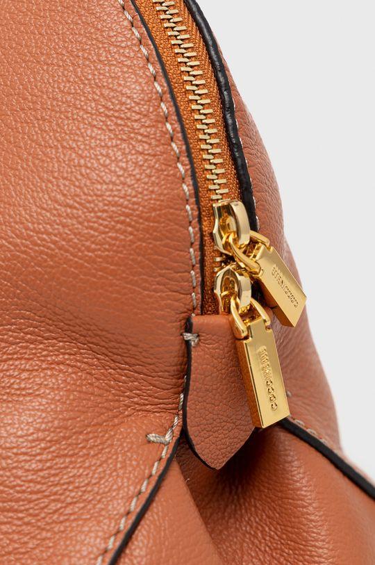 Coccinelle - Poseta de piele Colette maro auriu