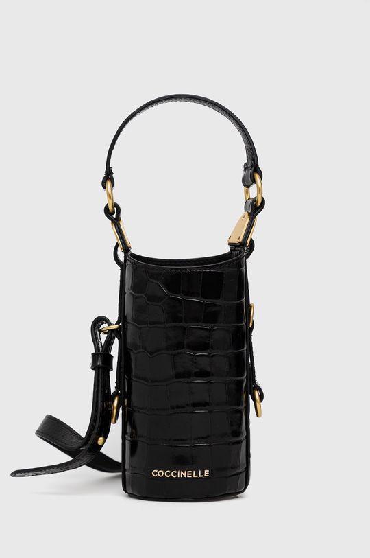 negru Coccinelle - Poseta de piele Tech De femei