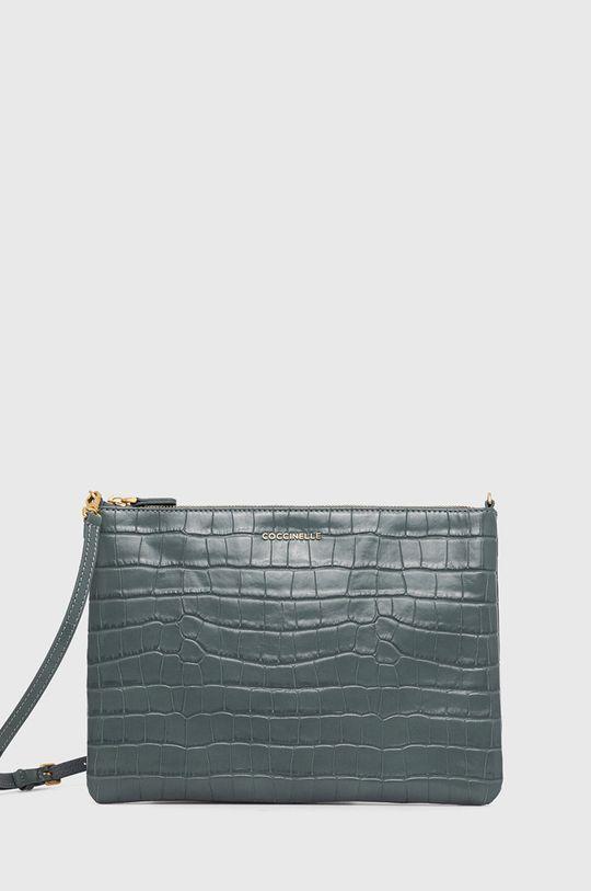 albastru metalizat Coccinelle - Poseta de piele IV3 Mini Bag De femei