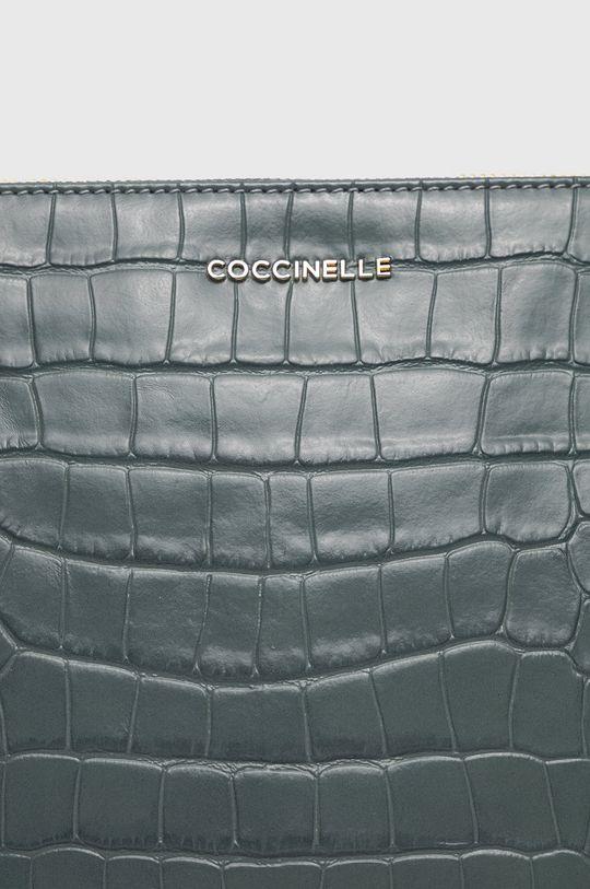 albastru metalizat Coccinelle - Poseta de piele IV3 Mini Bag