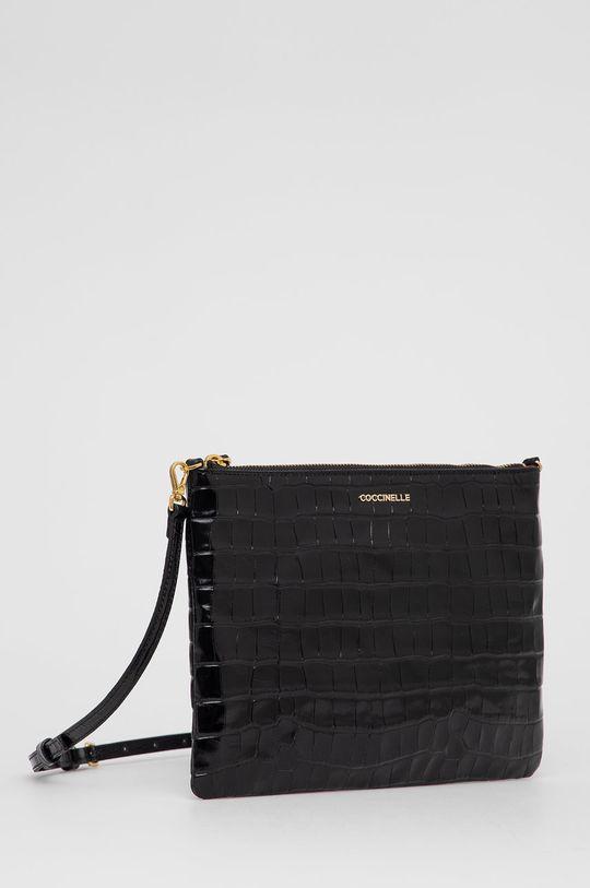 Coccinelle - Kožená kabelka IV3 Mini Bag  100% Prírodná koža