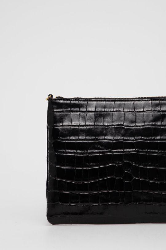 čierna Coccinelle - Kožená kabelka IV3 Mini Bag