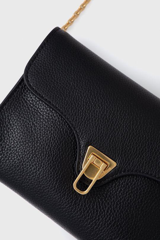 Coccinelle - Poseta de piele Mini Bag negru