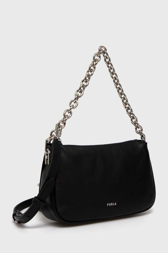 Furla - Kožená kabelka Moon  Podšívka: 100% Polyester Základná látka: 100% Prírodná koža