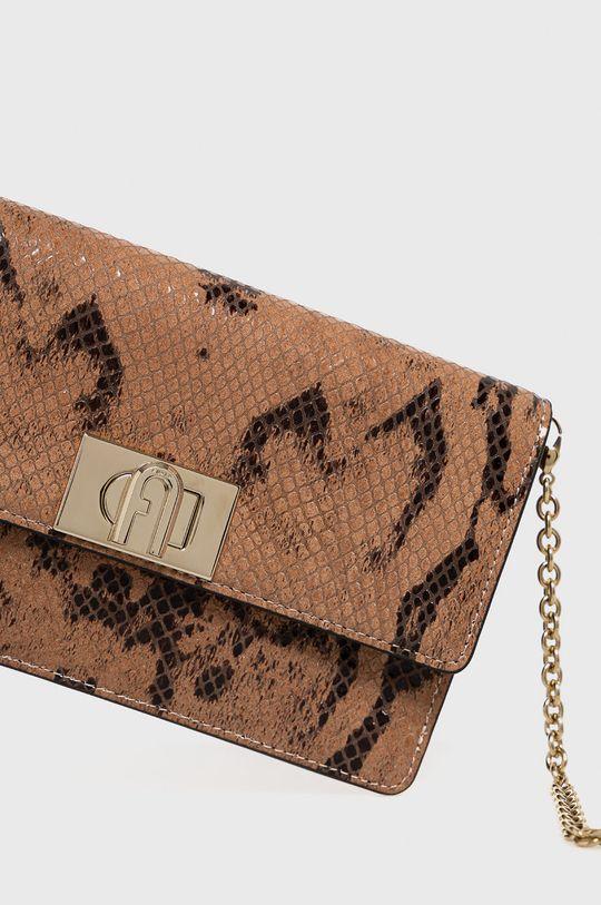 Furla - Kožená kabelka 1927 hnedá