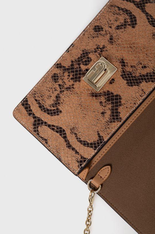 hnedá Furla - Kožená kabelka 1927