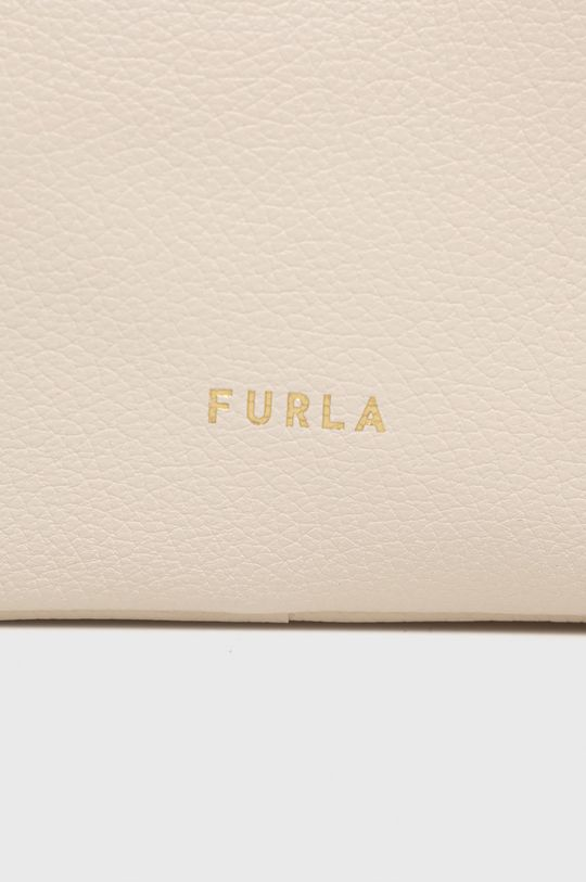 Furla - Kožená kabelka REAL MINI  Hlavní materiál: 100% Přírodní kůže