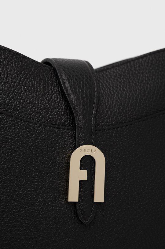 Furla - Kožená kabelka  100% Přírodní kůže